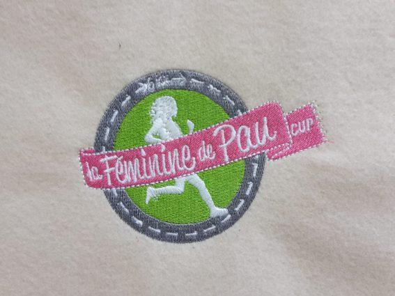 Broderie pour une association à Pau